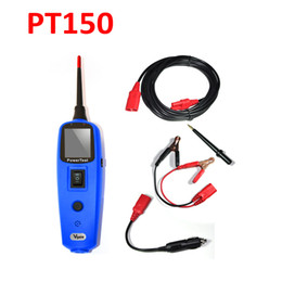 Wholesale Electric Power Car - Wholesale-Car Electric Circuit Tester Tool Vgate PowerScan PowerTest Pt150 Power Probe Electrical System Tester