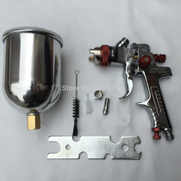 Wholesale Auto Feeding - spray gun HVLP Spray Gun Auto Feed Paint Spray Pistol Power Tools W-960 Spray Gun with Aluminum pot