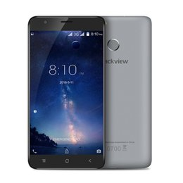 Wholesale Dual Sim Quad Core Mtk - In stock Blackview E7 4G Smartphone 5.5 Inch Android 6.0 Quad Core 1GB RAM 16G ROM Mobile Phone MTK MT6737 1.3GHz 8.0MP TouchID