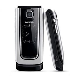 Мобильные телефоны онлайн-Оригинал NOKIA 6555 Filp Сотовый Телефон 2.0 Inch Экран 1.3MP Поддержка Камеры TF Карта 3G Восстановленное Телефоны