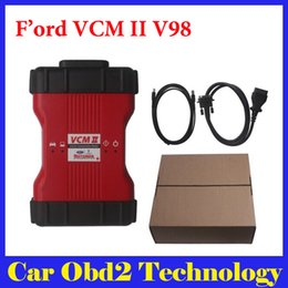 Wholesale Need Buy - 2016 Latest Version V98 for Ford VCM II VCM2 IDS VCM 2 Diagnostic Tool support WIFI ( Need Buy WIFI Card Seperately)