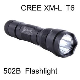 Wholesale Ultrafire Cree Led - For Sale,100pcs New 100% UltraFire 502B 1000 Lumens CREE LED XM-L T6 Flashlight