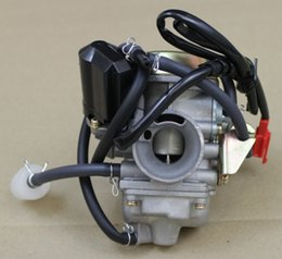 Wholesale carburetor stroke - Wholesale- 24mm Carb Carburetor GY6 125cc 150cc 150 Scooter Roketa SUNL GY6 4 Stroke PD24J