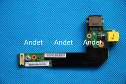 Wholesale Dc Power Jack Usb Board - New Original for Lenovo Thinkpad E520 E425 E420 Small Power & Ethernet Port Jack USB Board DC-in Sub Card 04W1867