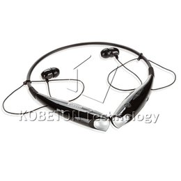 Canada Gros-2016 New HV-800 HandFree Sport Stéréo Bluetooth 2.1 Casque Sans Fil Casque Fold Neckband Style Pour iPhone 5 5S et Android cheap headsets neckband handfree Offre