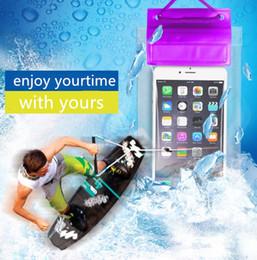 простой мобильный iphone Скидка универсальный водонепроницаемый мешок для iphone6 6 S плюс samsung S7 99% мобильный compatable ПВХ мешок сухой простой мешок 3 уплотнения 1 шт. упаковка ZWZ005