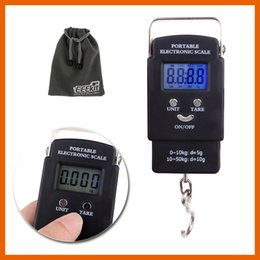 Wholesale Hanging Luggage Fishing Weight Scale - Digital Scale Electronic Hanging Fishing Luggage Pocket Portable Digital Weight Scale 20g 40kg With Retail Hanging Portable Scale 01