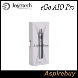 Wholesale pro ego batteries - Joyetech eGo AIO Pro Kit All-in-one Style Anti-Leaking Structure with 4ml e-juice Capacity Built-in 2300mAh Battery Top Filling100% Original