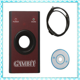 Wholesale Gambit Car Key - Wholesale-High Quality Gambit Programmer CAR KEY MASTER II Auto Transponder Key Programmer Gambit RFID Tool