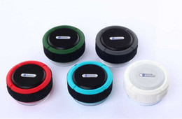 Wholesale China Wholesale Mic - Mini C6 IPX7 Outdoor Sports Shower Waterproof Wireless Bluetooth Speaker Suction Cup Handsfree MIC Voice Box for iphone Samsung