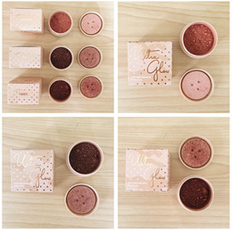 Wholesale Power King - Kylie Jenner Cosmetics Kylie Ultra Glow Highlighter Kylie Vacation Edition FIJI  SANTORINI  TAHITI  .king  queen 5 colors loose power 24pcs