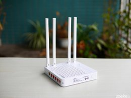 Wholesale Wifi Antenna Device - High speed TOTOLINK A700R 1200Mbps wireless double frequency Router WiFi 4 antenna 11AC smartest network device secure router support APP