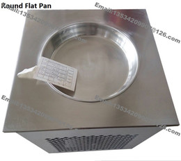 Wholesale Air Frying - Free Shipping Commercial Use Stainless Steel R22 110v 220v Electric Single Pan Thailand Fried Ice Cream Yogurt Machine Maker