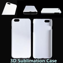 Wholesale Full Sublimation - DIY 3D Sublimation Case Full Area Heat Printed White Glossy Smooth Cover For Iphone 5S 6 6S Plus Samsung S6 S7 Edge Note 5 TOP Quality