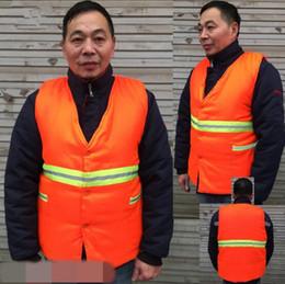 2019 vêtements de sécurité Vêtements de sécurité réfléchissant Wadded veste gilet sécurité visibilité réfléchissant gilet réfléchissant vêtements construction trafic gilet CCA8294 10 pcs promotion vêtements de sécurité