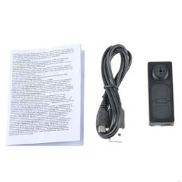 Wholesale Free Audio Recorder - Portable Spy Mini Hidden Camera Button Camcorder Video Audio Recorder Mini DV Security DVR with Audio Function 5pcs lot free shipping