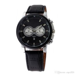 Wholesale Bowl Watch - Free shipping new luxury 2015 men quartz watch sell like hot cakes Brand fashion bowl of table Japanese quartz clock leather strap caivnk351