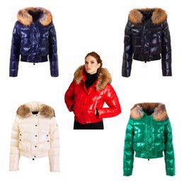 Wholesale Red Fox Fashion - Free shipping new fashion outdoor short section of the cold down jacket female super-warm and wild hooded winter coat