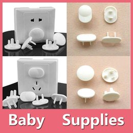 Wholesale Electrical Abs - Electrical Protective Socket Outlet Plug Lock Cover For Baby Kids Safety 2 Pins And 3 Pins