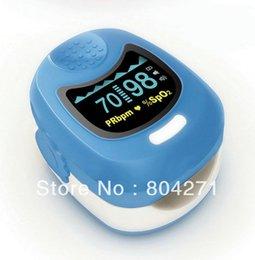 Wholesale Oximeter For Children - Oximetro de dedoBlue CMS 50QB For Children+Factory FREE Shipping CE and FDA Approved Fingertip Pulse Oximeter