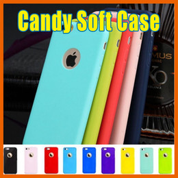 Wholesale Clear Handbags Candy - Ultra Thin Galaxy S7 Candy Case TPU Silicone Rubber Soft Back Case For iPhone 5 SE 6 6s plus Samsung Note7 S6 NOTE5