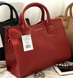 Wholesale Leather Lock Stripes - 2016 Fashion Womens Leather bag European designer Micaels handbags Ladies Shoulder Bags Classic Messenger Bags luxuries famous tote bag