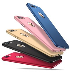 Wholesale Silm Phone - Mobile Case For iPhone 8 Phone Shell Silicone Scrub Cover Luxury Silm Hard Frosted PC Back