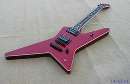 Wholesale Guitar Red Special - OEM Guitar New Arrival solid red special shape Electric Guitar High Quality Musical instruments with black parts!