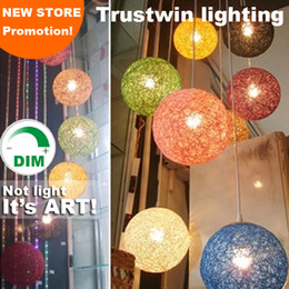 Dimmable round sphere pendant light ball shade fixture for lounge sitting room hotel restaurant dinning room ? partir de fabricateur