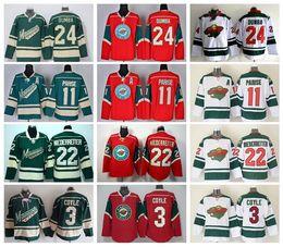 Wholesale Flash Gold - 2016 Ice Hockey Jerseys Minnesota Wild 11 Zach Parise Jersey Green Red White 22 Nino Niederreiter 24 Matt Mathew Dumba 3 Charlie Coyle