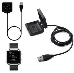 guarda le chips Sconti 2016 1 M Cavo di ricarica ricarica caricabatterie USB per Fitbit Blaze Smart Watch Smart Wristband con Chip DHL libero OTH221
