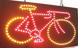 2019 lampade a casa di senso 2016 vendita diretta Grafica personalizzata led segno 33 * 50 CM coperta Ultra Bright business negozio di biciclette cartello led cartelloni all'ingrosso