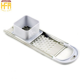 Wholesale Stainless Steel Noodle Maker - Spaetzle Maker Noodle Cutter Stainless Steel Kitchen Tool With Comfort Grip Handle Noodle Dumpling Making Tool And Food Grade Plastic