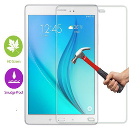 Wholesale Galaxy S Wholesale - 0.33mm 2.5d 9H For Samsung Galaxy TAB A T580 S2 S E tab 4 3 2 Tablet Tempered Glass Screen Protector Protective Explosion-Proof Film Glass