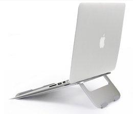Wholesale 13 aluminum - Univeral Aluminum Laptop Stand Portable for Macbook Air   Pro 13 15 for ipad Pro 12.9