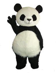 Wholesale costumes pandas - 2018 Factory direct sale Giant Panda Mascot Costume Christmas Mascot Costume Free Shipping