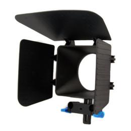 Digital Matte Box 15 mm Rail Rod Soporte M1 para cámara DSLR desde fabricantes