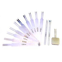 Wholesale Gauge Sets - NEW Model Professional Used Locksmith Tools Blade Feeler Gauge Lock Picks