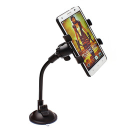 Wholesale Accessories For Automobiles - Car Holder for Mobile phone Automobile 360 degree rotation Support Celular Phone Holder For Car Accessories Stand
