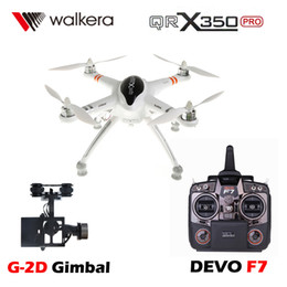Argentina Original Walkera QR X350 Pro RC FPV Quadcopter Drone with iLook Camera G-2D Gimbal DEVO F7 Transmitter Aerial Photography Suministro