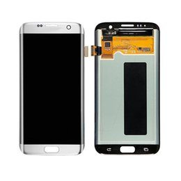 Wholesale Wholesale Spare Parts Lcd - Phone spare part for samsung s7 edge touch screen digitizer with frame display ,original for galaxy s7 edge glass lcd screen replacement