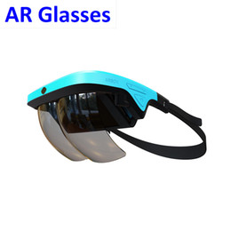 Wholesale Headset Video Games - AR Augmented Reality Holographic Glasses Headset Goggles VR Virtual Reality 3D Video Games Box Glasses for Smarthones