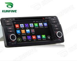 "Wholesale E46 Gps 3g - 7"" Quad Core 1024*600 Screen Android 5.1 Car DVD GPS Player for BMW E46 M3 1998-2005 Bluetooth Wifi 3G steering wheel control"