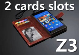 Wholesale Metal Case Xperia - Retro Wallet Leather Case For Sony Xperia Z3 Cover & For Sony Xperia Z3 Compact Z3 mini  Z5 Compact Z5 Mini Stand