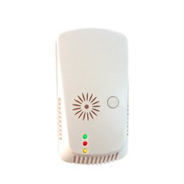 Wholesale Gas Leak Alarm Detector - 1pcs Wall Mounted Combustion Flammable Gas LPG Leak Tester Sensor Detector Warning Alarm with Green LED flashing Home Safety