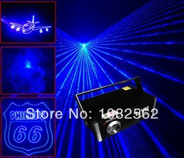 Wholesale Uk Animations - 450nm animation 1W single one color Blue ILDA indoor dj disco software control laser light show system