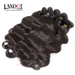 Wholesale Brazilian 1kg Body Wave - Wholesale Best 10A Brazilian Virgin Hair Body Wave 1KG Lot Unprocessed Peruvian Indian Malaysian Human Hair Weaves Can Bleach UP 2 Year Life