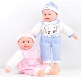 Wholesale Body Baby China - 50cm silicone lovely baby doll 21inch plastic reborndolls with pp cotton body