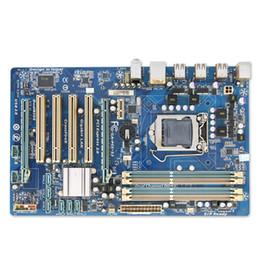 Wholesale Gigabyte Motherboard I3 - New GA-P55-S3 Original Used Desktop Motherboard P55-S3 P55 LGA 1156 i3 i5 i7 DDR3 16G ATX