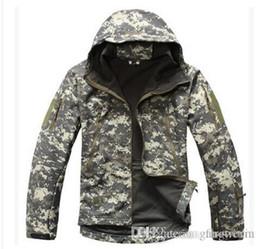 Lurker Gear requin peau armée armée veste hommes Softshell imperméable veste de plein air camouflage chasse milicien tactique ? partir de fabricateur